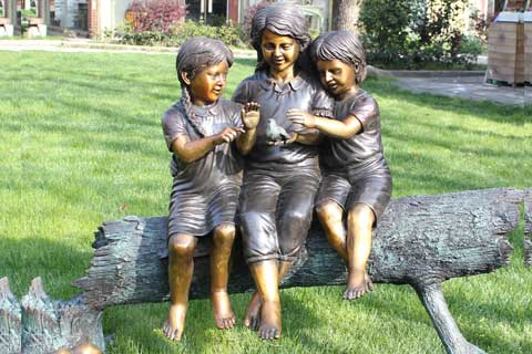 Antique Life Size Bronze Statues for Garden and Yard Decor on Sale