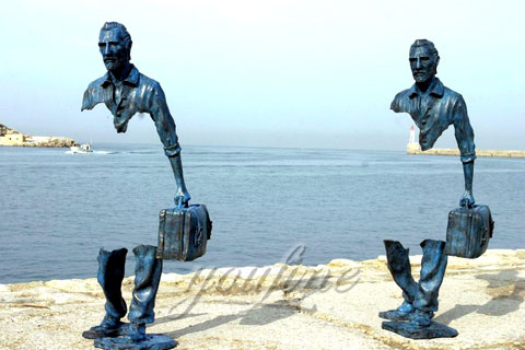 Famous Art Bronze Traveller Sculptures