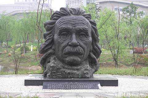 Famous Bronze Sculpture Einstein for Garden and Yard Decor on Sale