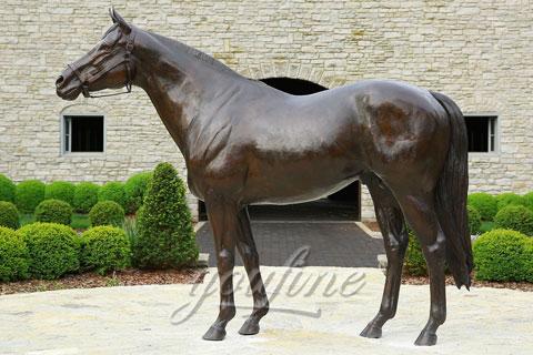 garden large bronze horse sculptures for sale