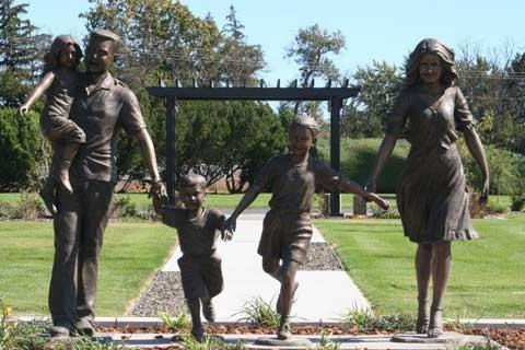 High Quality Casting Bronze Sculptures for Home & Garden Decor