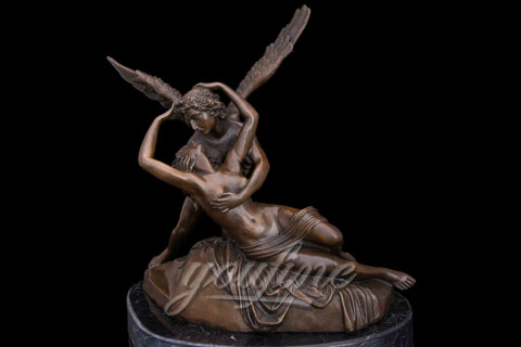 Hot Sale Classical Famous Cupid and Psyche Bronze Statues