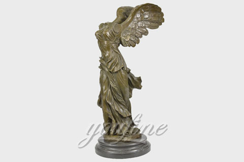 Outdoor Famous Bronze Victory Goddess Sculptures for Sale