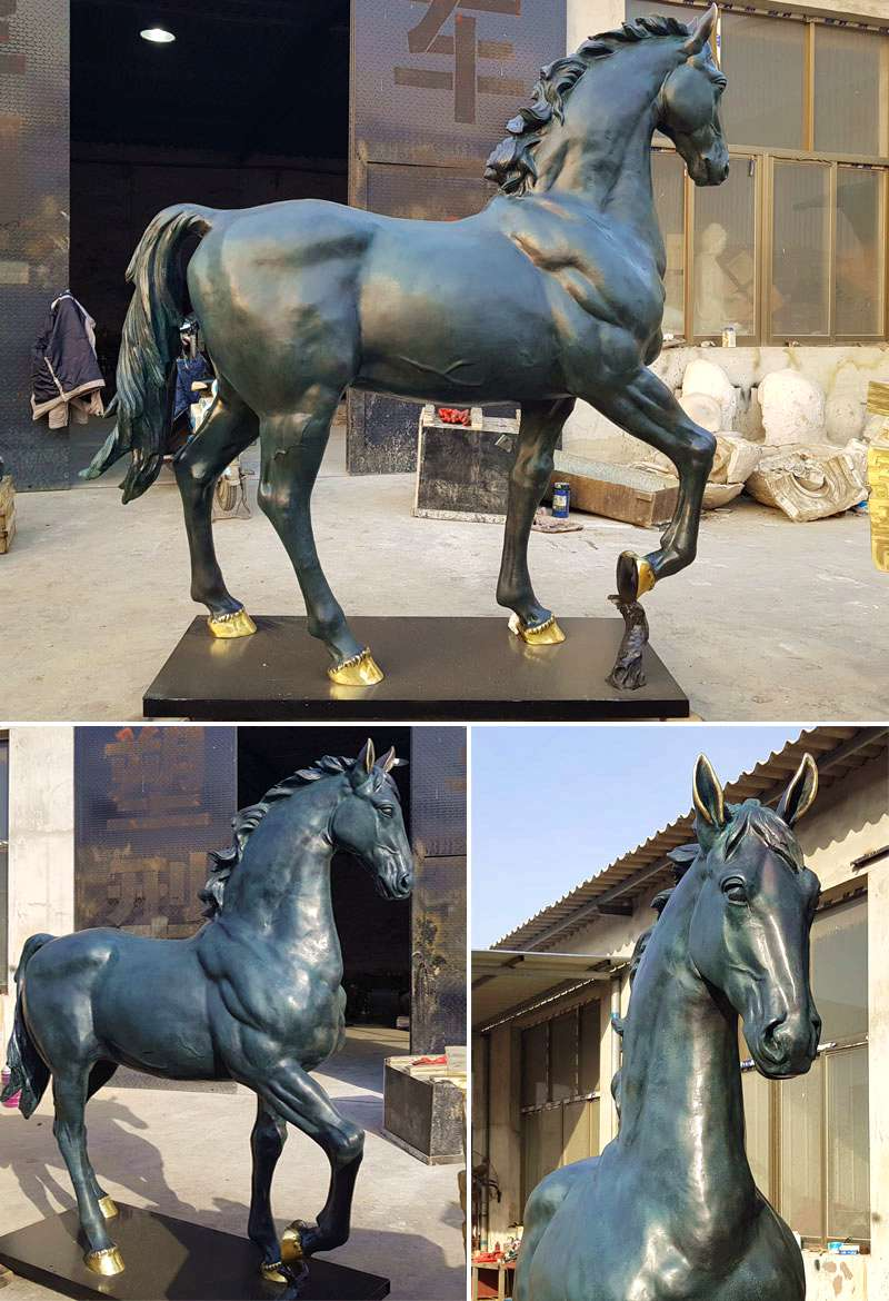 Bronze Horse Sculpture BOKK-76