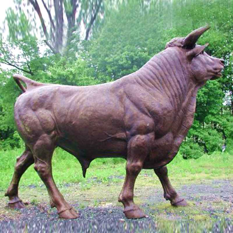 Customize Bronze Cow Sculpture for Sale BOKK-684