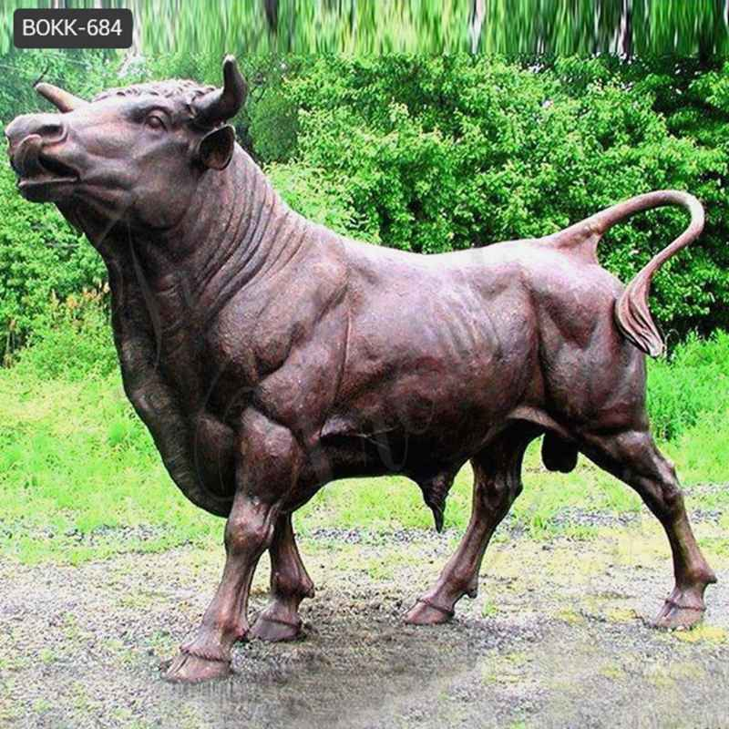 Low Price Customize Bronze Cow Sculpture for Sale BOKK