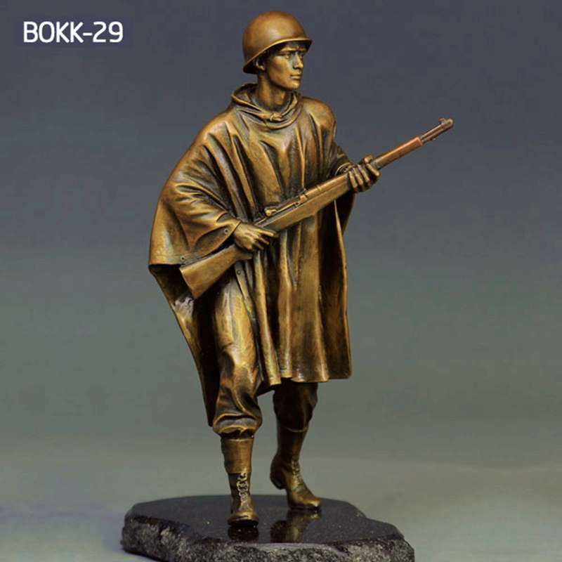 Manufacture of Popular Bronze Solider Sculpture BOKK-29
