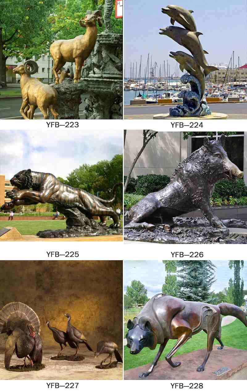 Supplier of Garden Bronze Panther Statue