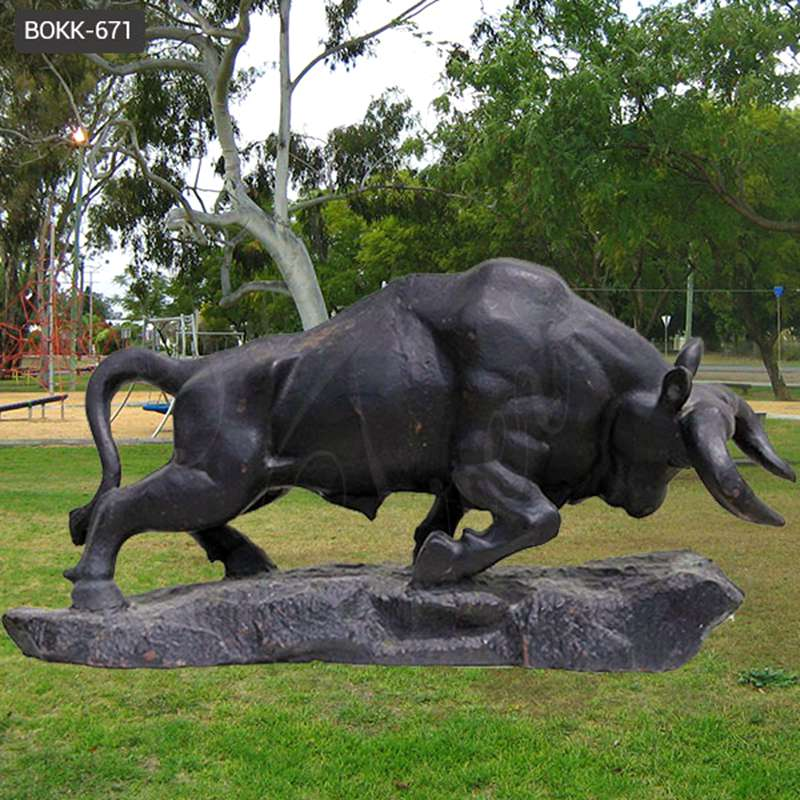 Where to buy Life Size Bronze Bull Sculpture