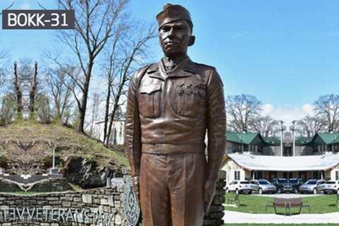Factory Supply Bronze Soldier Sculpture for Veterans Park BOKK-31