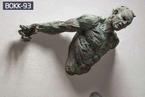Buy Life Size Creative Bronze Climb Man Statue of France BOKK-93