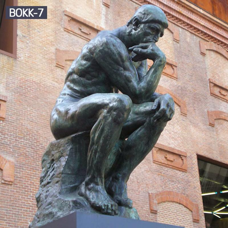 amous Bronze Thinker Statue with Comparative Price
