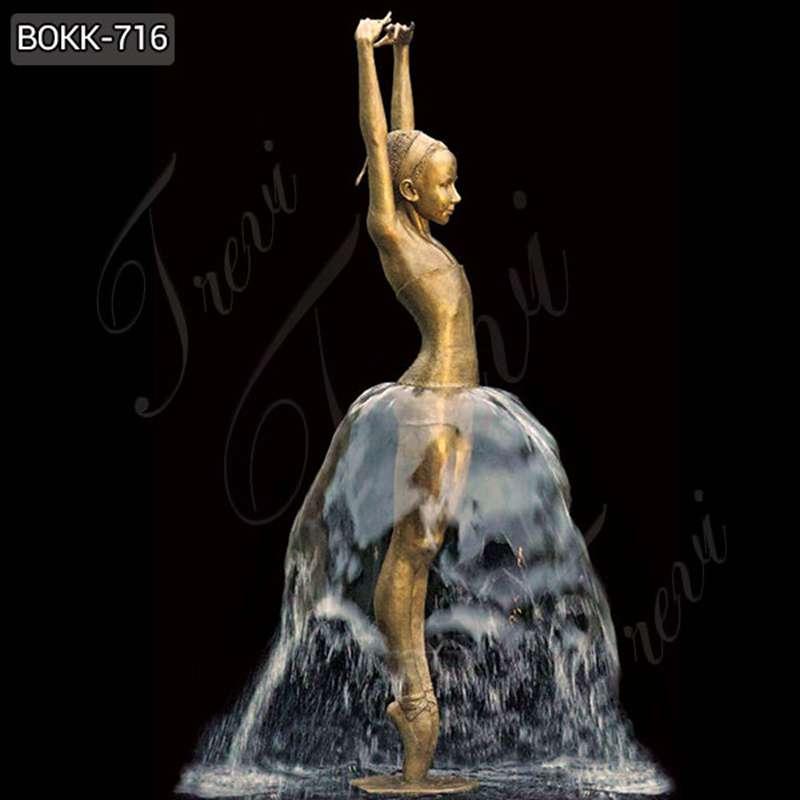 Buy Charming Western Bronze Figure Sculpture of girl