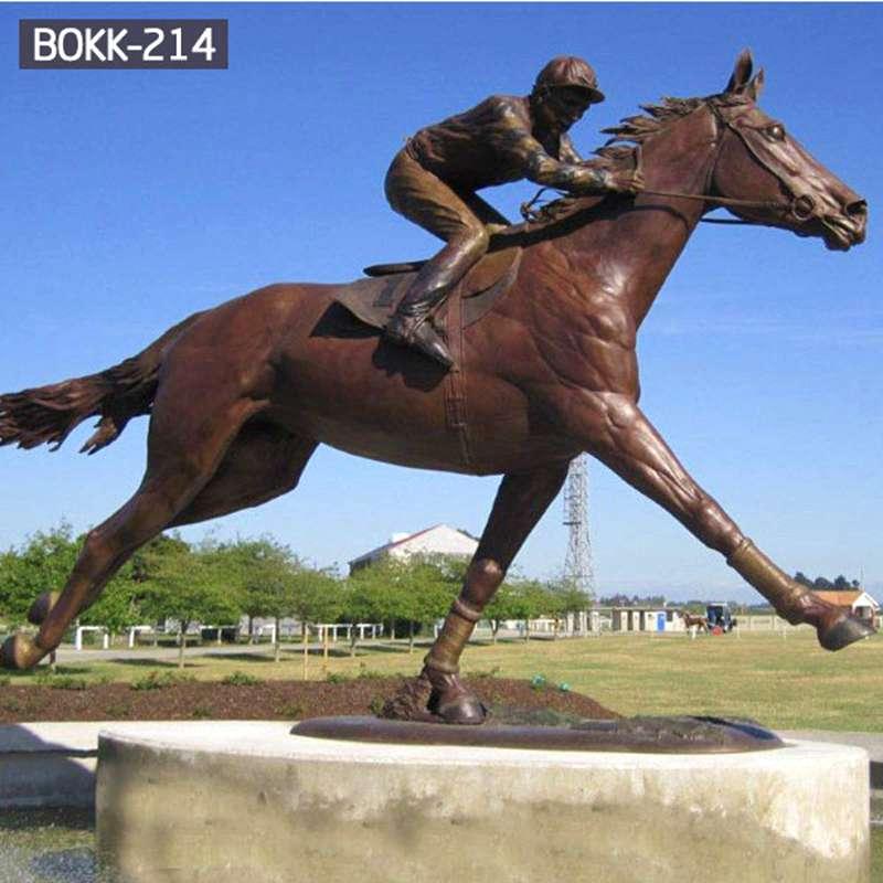 Cheap Large Bronze Horse Sculpture for Park BOKK