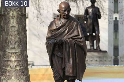 Famous Hero Bronze Gandhi Statue for Sale BOKK-10